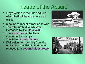 Theatre of the Absurd powerpoint