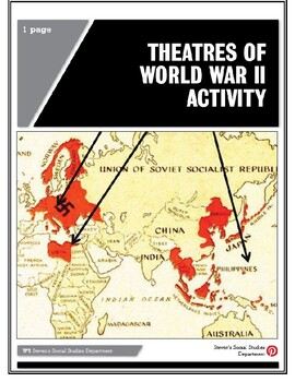 Theatres of World War II Activity