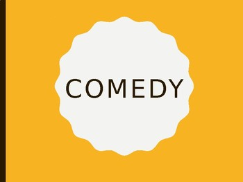 Theatrical Comedy PowerPoint Presentation