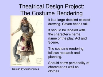 Theatrical Design Unit Power Point