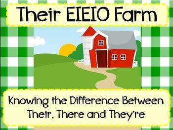 Their E-I-E-I-O Farm Song