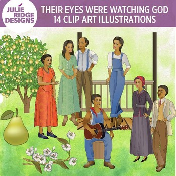 Their Eyes Were Watching God — 28 illustrations