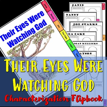 Their Eyes Were Watching God Characterization Flip book