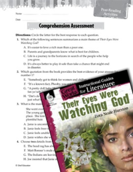 Their Eyes Were Watching God Comprehension Assessment