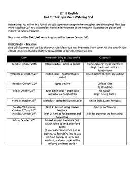 How To Buy An Essay Their Eyes Were Watching God Essay Prompt Rubric And Graphic Organizer Essay On Sustainability also Pet Peeves Essay Their Eyes Were Watching God Essay Prompt Rubric And Graphic  Slave Trade Essay