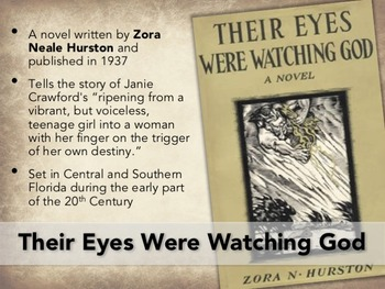 Their Eyes Were Watching God Introductory PowerPoint and Activity