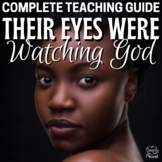 Their Eyes Were Watching God Literature Guide PACKET   DISTANCE LEARNING
