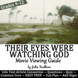Their Eyes Were Watching God Movie Guide, Quiz, Paired Info Text, End of Year