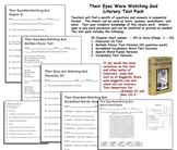 Their Eyes Were Watching God Test Pack -- Zora Neale Hurston
