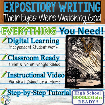 Their Eyes Were Watching God - Text Dependent Analysis Expository Writing