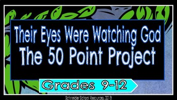 their eyes were watching god project