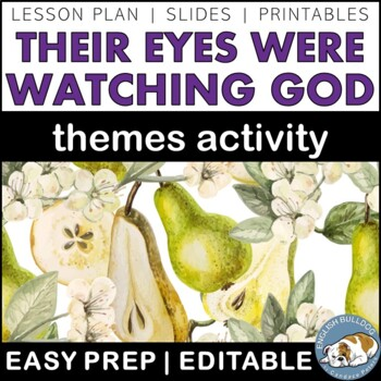 Their Eyes Were Watching God Themes Textual Analysis Activity