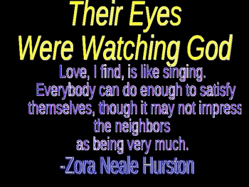 Their Eyes Were Watching God introduction