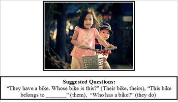 Their, Theirs They & Them Possessives Pronouns ABA Autism