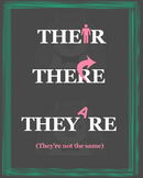 Their, There, and They're Poster
