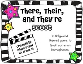 Their, There, or They're Scoot {Review Game}
