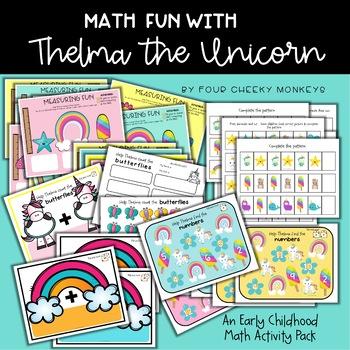 Thelma The Unicorn - Math Center Fun
