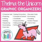 Thelma The Unicorn by Aaron Blabey Graphic Organizer Compa