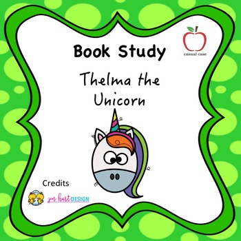 Thelma the Unicorn Book Study