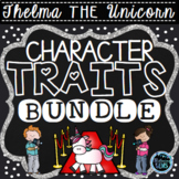 Thelma the Unicorn Character Traits Activities Bundle | Aaron Blabey Activities