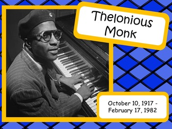 Thelonious Monk: Musician in the Spotlight