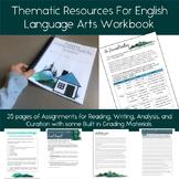 Thematic Analysis Workbook for English Language Arts