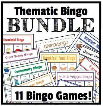 Thematic Bingo {BUNDLE}