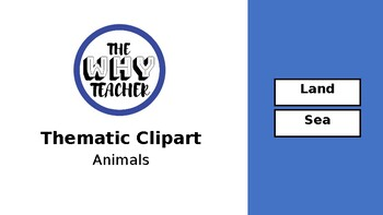 Thematic Clip Arts- Animals