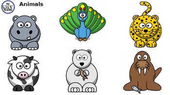 FREE Thematic Clip Arts- Animals Preview