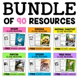 Thematic Close Reading Passages Mega Bundle