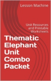 Thematic Elephant Unit Combo Package