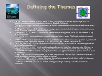 "Thematic Essay  How-to PowerPoint Lesson ""Global Studies"""