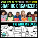 READING COMPREHENSION GRAPHIC ORGANIZERS BUNDLE ---> NO PREP | ANY BOOK
