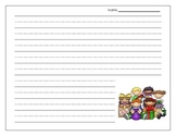 Thematic Holiday Writing Paper {FREEBIE}