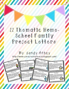 Thematic Home-School Project Letters