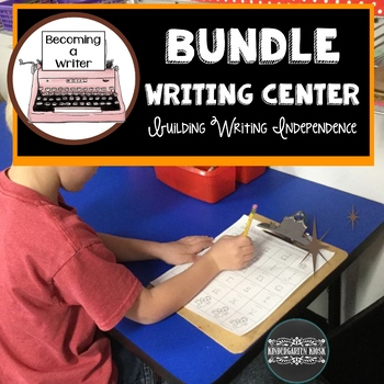 Thematic Independent Writing Practice BUNDLE Set 1