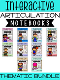 Thematic Interactive Articulation Notebooks Bundle
