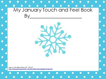 Thematic January Interactive Book-Freebie