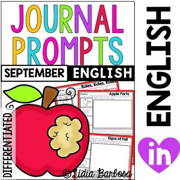 School Journal Prompts