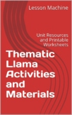 Thematic Llama Activities and Materials