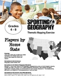 Thematic Mapping - Players by Home State