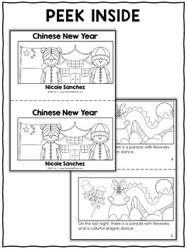 Mini Book and Activities - Chinese New Year