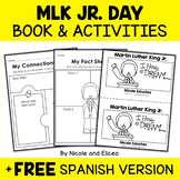 Martin Luther King Jr Activities and Book
