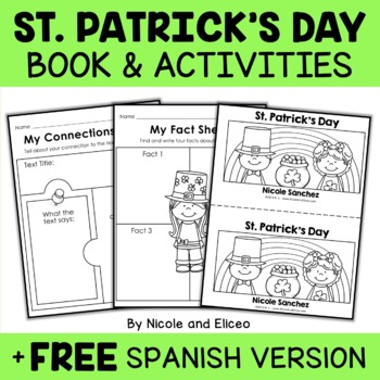 Mini Book and Activities - St Patricks Day