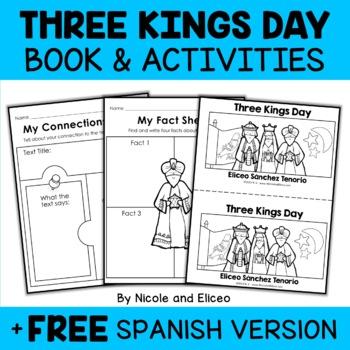 Three Kings Day Books Activities