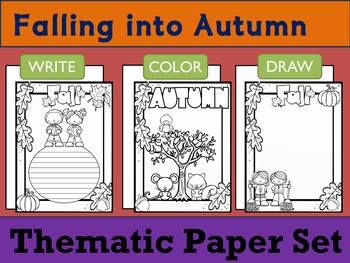 Thematic Paper Set - Falling into Autumn 2 : Standard Lines