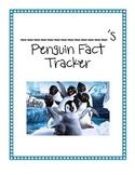 Thematic Penguin Unit: Penguin Fact Tracker (CCSS Aligned)