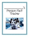 Thematic Penguin Unit: Penguin Fact Tracker (CCSS Aligned)