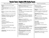 Thematic Planner to go with Houghton Mifflin Reading Grade 3