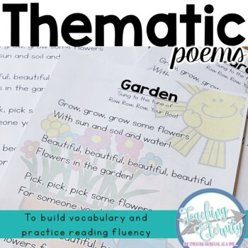 Thematic Poems Bundle